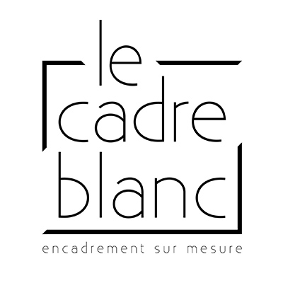 Le Cadre Blanc – Encadrement sur mesure Logo