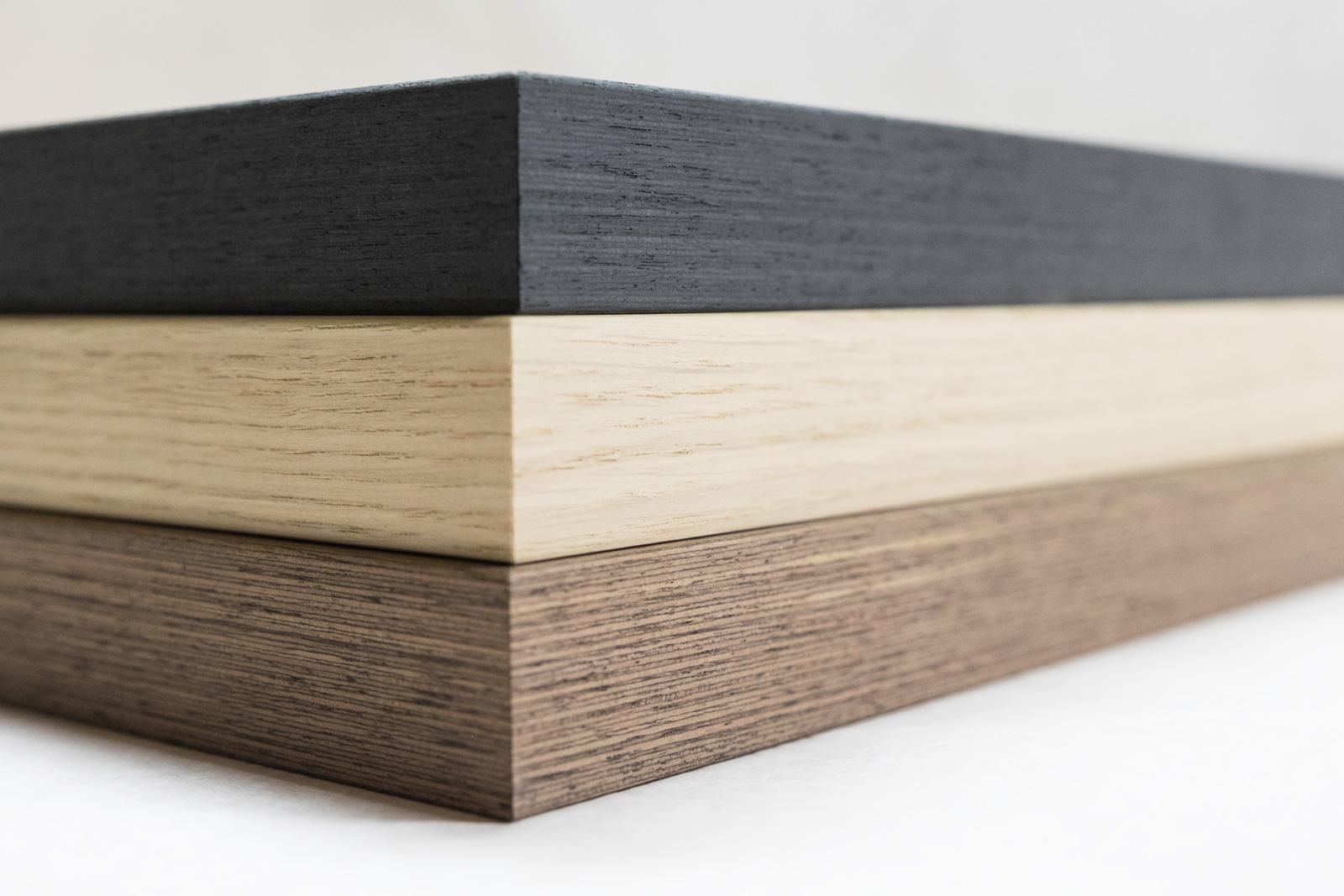 Cadre Nielsen Alpha placage bois